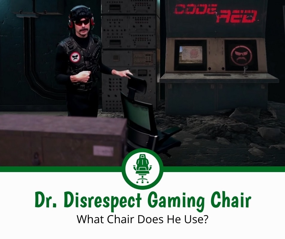 Dr. Disrespect Gaming Chair